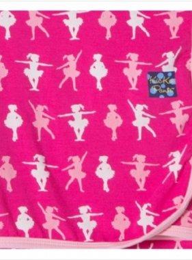 Kickee Pants Swaddling Blanket Calypso Ballerina