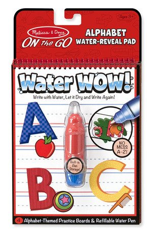 Melissa & Doug 5389 Alphabet Water Wow!
