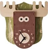 Modern Moose Moose Clock PC015