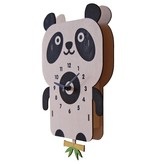 Modern Moose Panda Pendulum Clock PCPEN027
