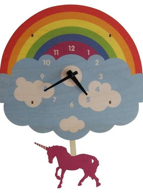 Modern Moose Unicorn Pendulum Clock 1579