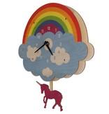 Modern Moose Unicorn Pendulum Clock PCPEN052