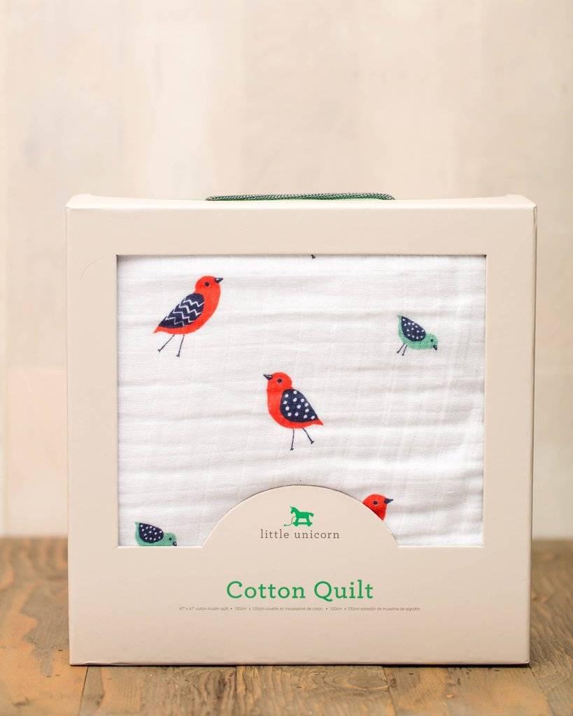 Little Unicorn Cotton Muslin Quilt Little Wings UB0208