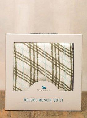 Little Unicorn Deluxe Muslin Quilt Pendleton Plaid UB0608