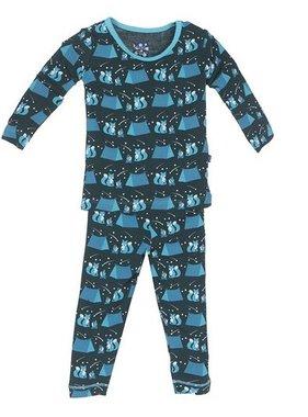 Kickee Pants L/S Pajama-Camping Fox