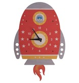 Modern Moose Spaceship Pendulum Clock