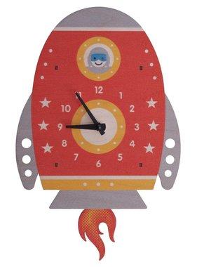 Modern Moose Spaceship Pendulum Clock