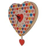 Modern Moose Heart Pedulum Clock PCPEN043