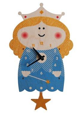 Modern Moose Princess Pendulum Clock PCPEN036