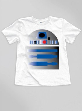 Junk Food Clothing R2-D2 Tee, White