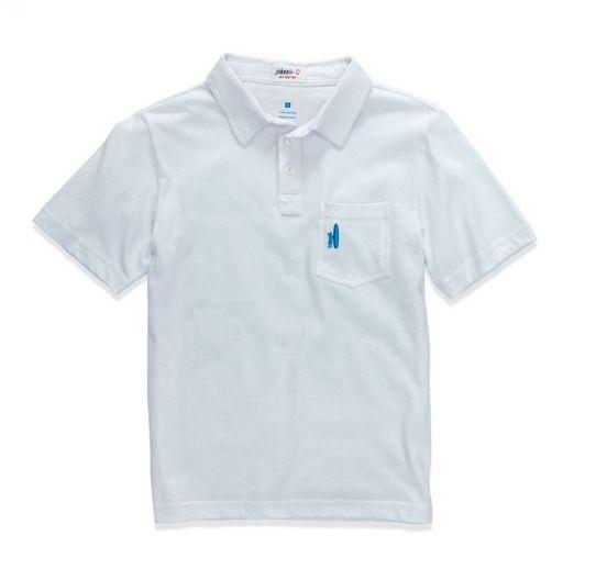Johnnie-O The Original Collar Shirt, White BPO1011