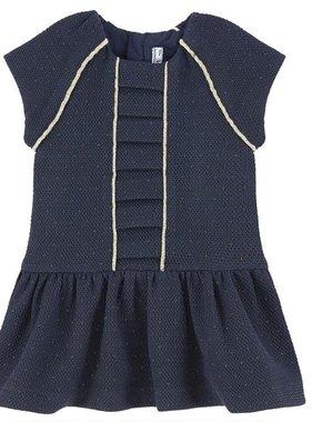 Mayoral Navy Cotton fabric dress 2928 025
