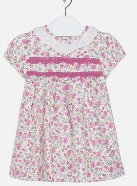 Mayoral 2893 017 Plum Print dress