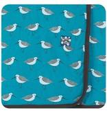 Kickee Pants Print Blanket, Bay Sandpiper