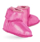 Emu B11428 Hot Pink Baby Bootie Metallic