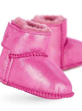 Emu B11428 Hot Pink Baby Bootie Metallic