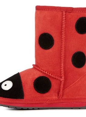 Emu H10111 Red Ladybird Boot