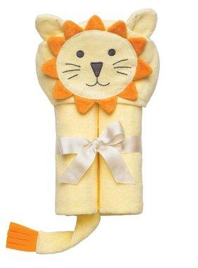 Elegant Baby Bath Wrap-Yellow Lion