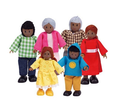 Hape Happy Family - African American E3501