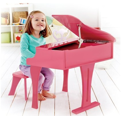 Hape Happy Grand Piano, Pink E0319
