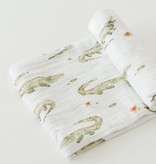 Little Unicorn UB0153 Cotton Muslin Swaddle Single - Gators