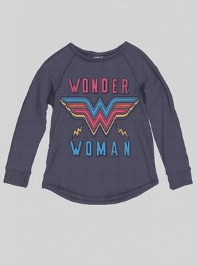 Junk Food Clothing Wonder Woman Tee, Midnight