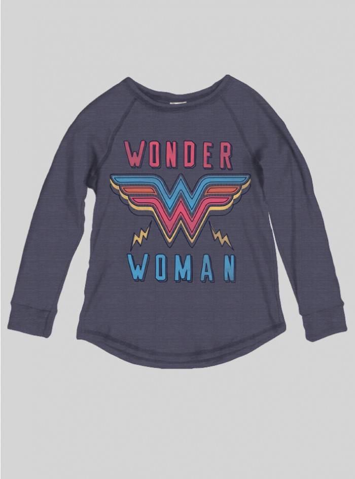 Junk Food Clothing Wonder Woman Tee, Midnight