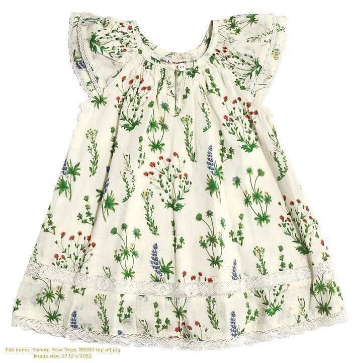 Mimi & Maggie 80083-MLT Garden Rose Dress, Multi