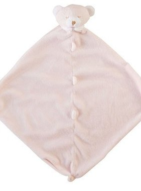 Angel Dear Pink Bear Blankie 1174