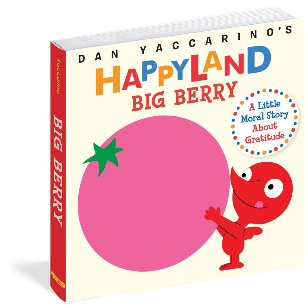 Workman Publishing Co HAPPYLAND BIG BERRY Book