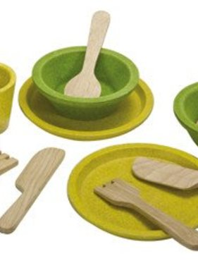 Plan Toys 3605 TABLEWARE SET
