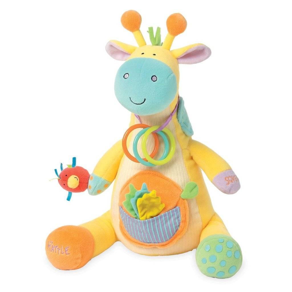 Manhattan Toy Peek-Squeak Giraffe 203700