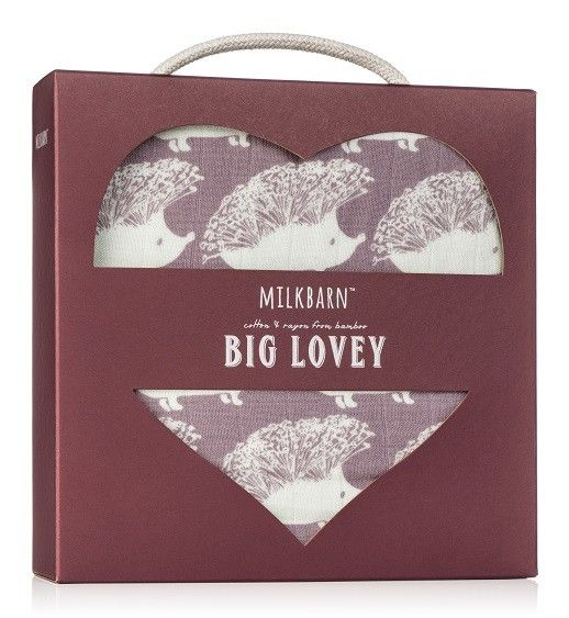 Milkbarn 64057 Big Lovely, Lavender Hedgehog