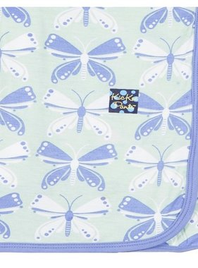Kickee Pants Print Blanket, Aloe Butterfly