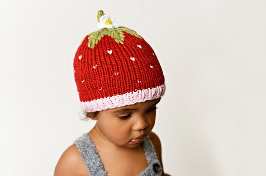 The Blueberry Hill BHBSTHT Bamboo Strawberry Hat