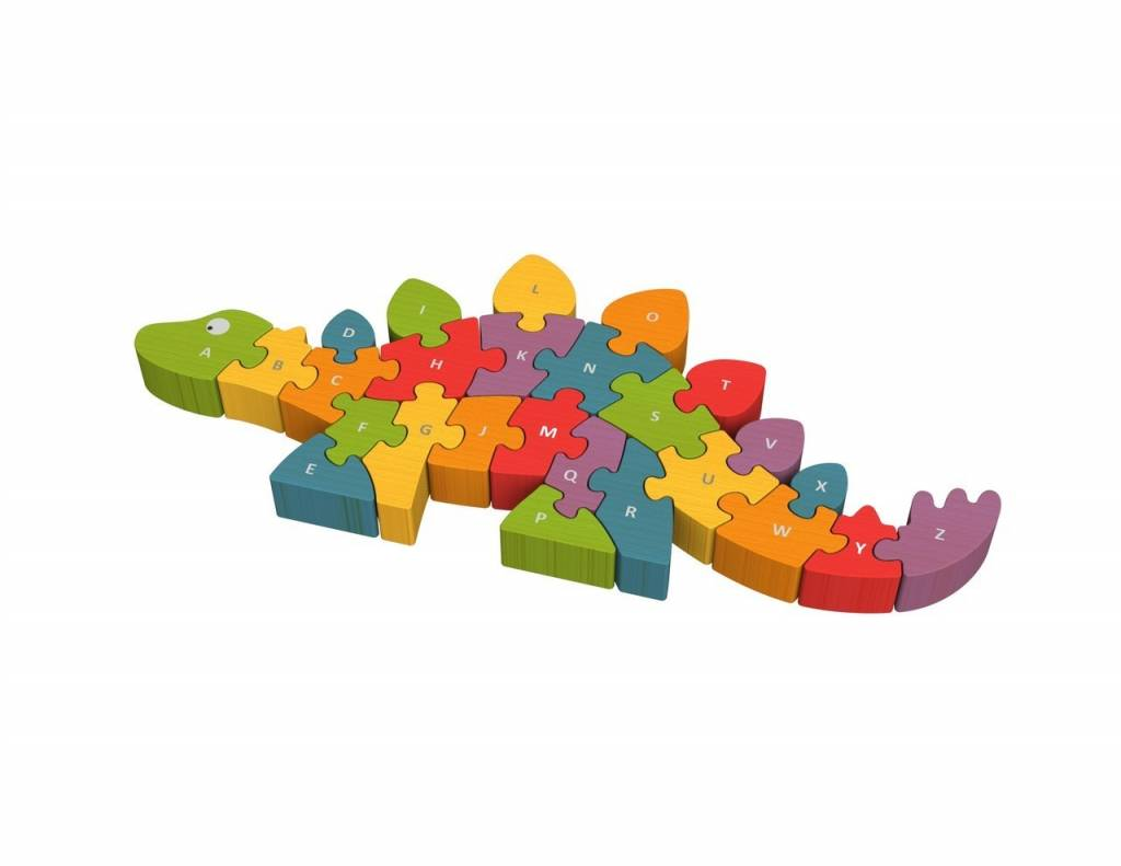 Begin Again Dinosaur A-Z Puzzle