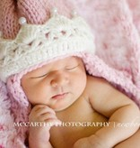 The Daisy Baby Abigail Pink Princess Crown Hat