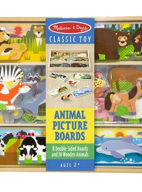 Melissa & Doug Animal Picture Boards 9890