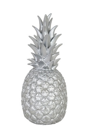 Goodnight Light 122 Pineapple Lamp Silver