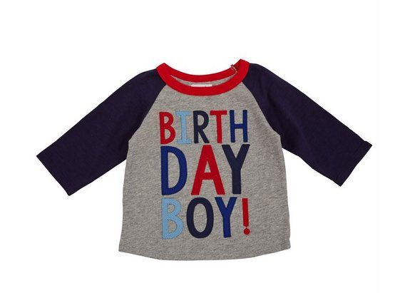 Mud Pie 3 BIRTHDAY BOY CAPE TSHIRT 1052171