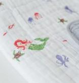 Little Unicorn UB0228 Cotton Muslin Quilt - Mermaid