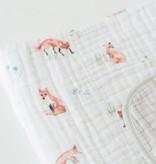 Little Unicorn UB0231 Cotton Muslin Quilt - Fox