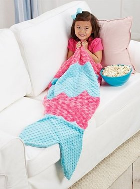 Mud Pie MERMAID BLANKET 2102217