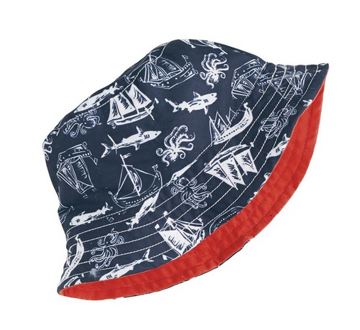 Mud Pie SHARK SUN HAT Toddler 1502262
