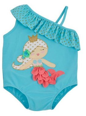 Mud Pie 1122118 Mermaid Swimsuit