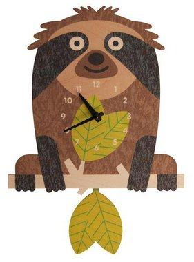 Modern Moose Tree Sloth Pendulum Clock PCPEN057