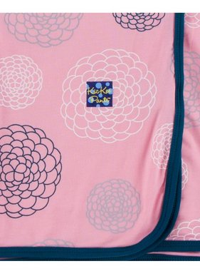 Kickee Pants Print Blanket Lotus Blooms