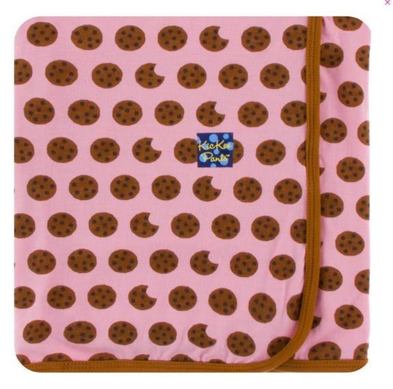 Kickee Pants Print Blanket Lotus Cookies