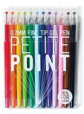 Ooly 132-066 Petite Point Gel Pens- Set of 12