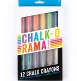 Ooly 124-003 Chalk-O-Rama Dustless Chalk Sticks set of 12